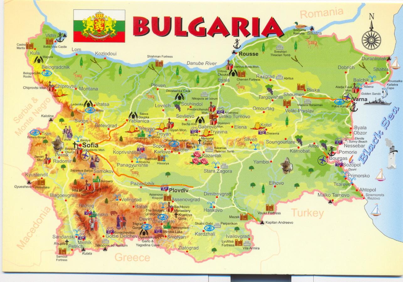 Pin World Map Bulgaria Keywordspy on Pinterest